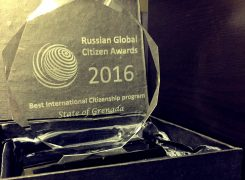 Grenada wins Best International Citizenship Programme Award